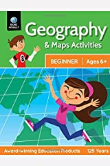 Geography & Maps Activities, Beginner   Ages 6+ Paperback