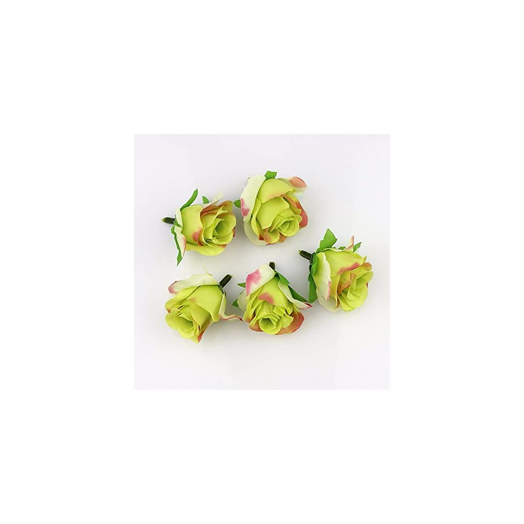 FLOWER-30pieces-3-4cm-Artificial-Silk-Rose-Head-Scrapbooking-Ball-for-Wedding-Decoration