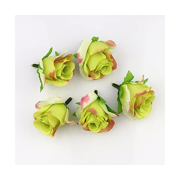 FLOWER-30pieces-3-4cm-Artificial-Silk-Rose-Head-Scrapbooking-Ball-for-Wedding-Decoration