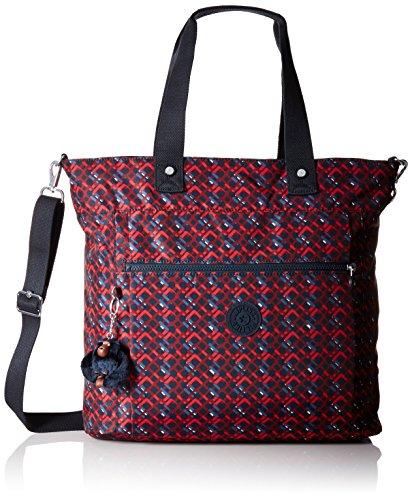 Lizzie Printed Laptop Tote Shoulder Bag, Groovy Lines, One -
