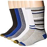 Gold Toe Premier Men's Fashion Sport Crew Sock 6-Pack $5.75 at  amazon.com online deal