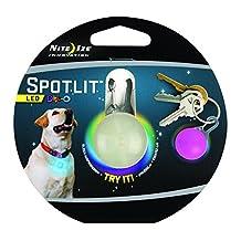 Nite Ize SLG-03-07 SpotLit Clip-on LED Go Anywhere Light, 5-Color