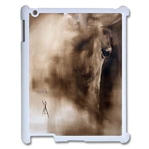 Kawaii Horse Pattern Hard Snap Cell Phone Case for Ipad 2,3,4 CaseTSL330479