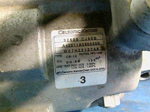 日産 純正 ウイングロード Y12系 《 JY12 》 エアコンコンプレッサー 91600-CJ60B P11400-18004407