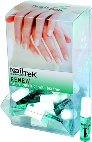 NailTek RENEW Cuticle Oil Travel Size - .17oz 24pc Display