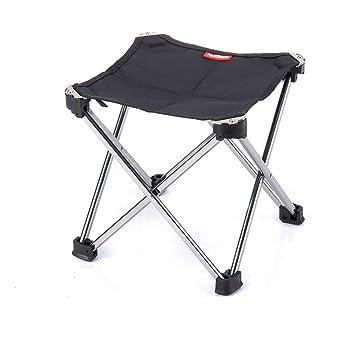 Pop Up Chaise Portable Léger Pliable Camping Randonnée Pliable Tabouret Trépied C