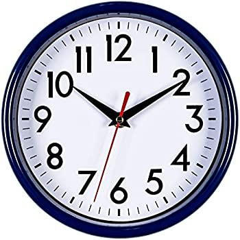 Bernhard Products - Navy Blue Wall Clock 8