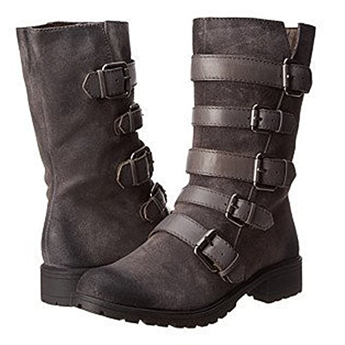 Naya Women's Darryn Motorcycle Boot (Grey,11B (M) US) by Naya