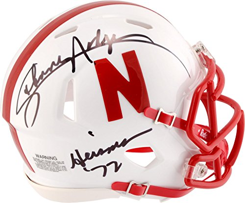 Johnny Rodgers Nebraska Cornhuskers Autographed Riddell Speed Mini Helmet with Heisman 72 Inscription - Fanatics Authentic Certified