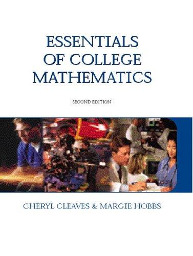 Essentials of College  Mathematics (2nd Edition)