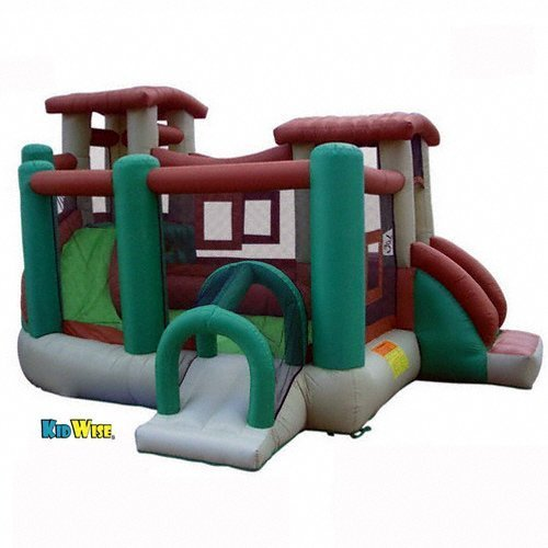 KidWise Clubhouse Climber Bounce House by KIDWISE