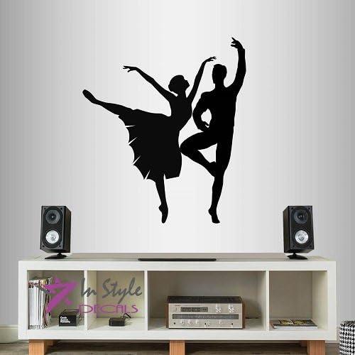 Ballet Wall Sticker Life Is Better In A Tutu Dance Studio Girls Vinyl Wall Decal