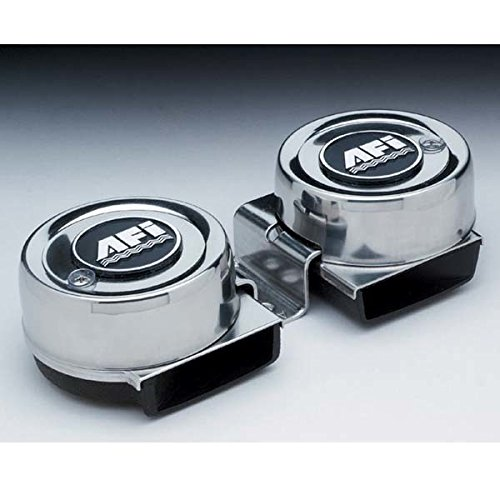 AMRA-10001 * Stainless Steel Mini Twin Electric Horn (Afi Dual Trumpet)
