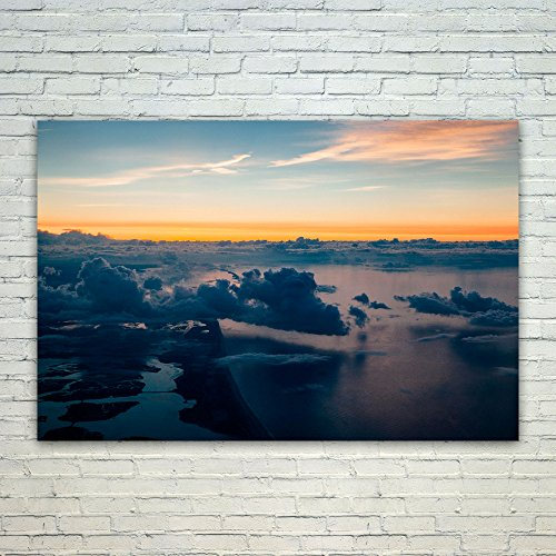 Westlake Art Sunset Cloud - 24x36 Poster Print Wall Art - Mo