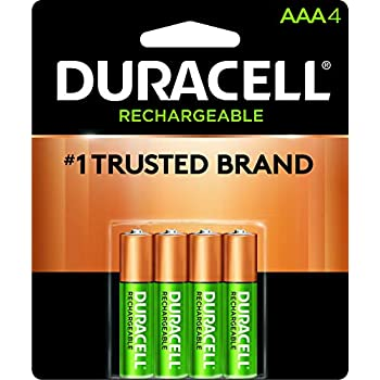 a49a5f02aa7 Amazon.com  Duracell - Rechargeable AAA Batteries - long lasting ...