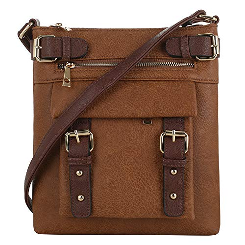 Jessie & James 2 Toned Belt Concealed Carry Crossbody Bag