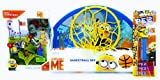 Missing Link Connections Despicable Me Minion Basketball Set with Medieval Mischief 74 Piece Mega Construx PEZ Dispenser Candy