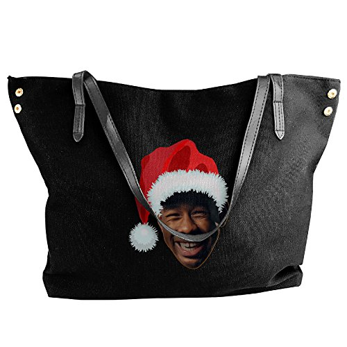 Rapper Tyler The Creator Christmas Canvas Bag For Women (Female Rappers Costume)