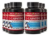 L-carnitine natural - L-CARNITINE 500MG- support mental capacity (6 Bottles)