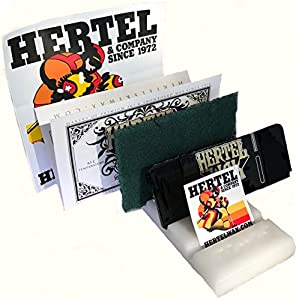 Hertel Ski/Snowboard Deluxe waxing kit use hot or Cold