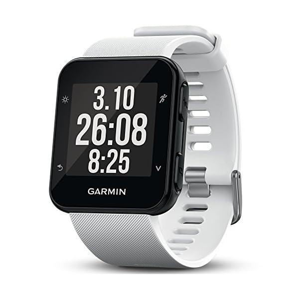Garmin Forerunner 35 – Montre GPS de Course à Pied Connectée avec Cardio Poignet – Blanc