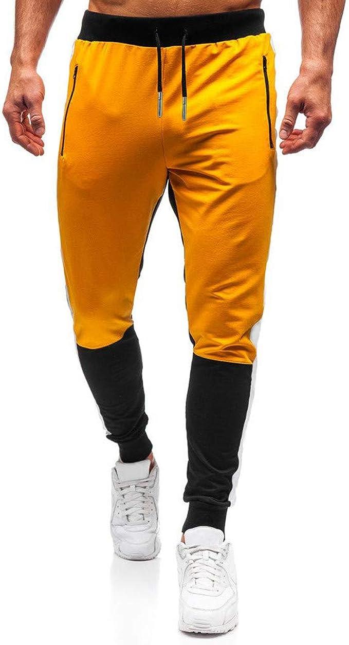 FELZ Pantalones Deporte Hombre Largos, Pantalones Hombre Casuales ...