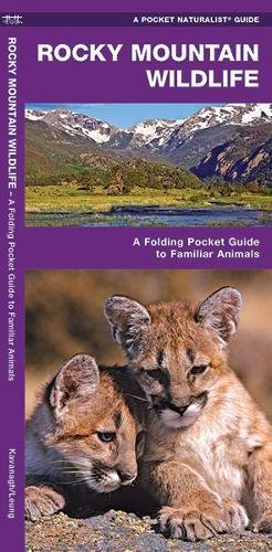 Rocky Mountain Wildlife: A Folding Pocket Guide to Familiar Species (A Pocket Naturalist Guide) (Rocky Wildlife Mountains)
