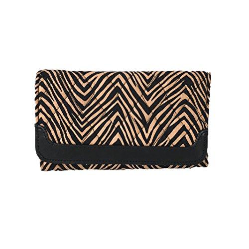 Vera Bradley Sleek & Chic Trifold Wallet, Zebra