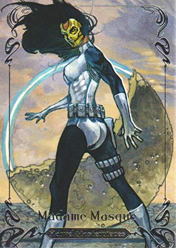 2018 Upper Deck Marvel Masterpieces Base Set Card #6 Madame Masque /1999