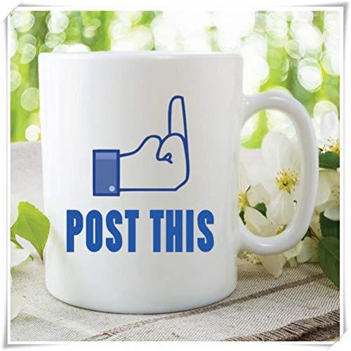 Mr.Fixed - Funny Facebook Status Post, This Mug Gift, Friend Boyfriend Gift, Girlfriend Christmas Gift, 11oz Ceramic Coffee Mug, Unique Gift