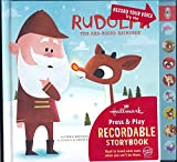 img - for Rudolph The Red-Nosed Reindeer Hallmark Press & Play Recordable Storybook book / textbook / text book
