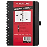Action Day Academic Planner 2016-2017, Mid-Year Teacher/Student Calendar - Daily Weekly Yearly Organizer - Goal Journal - Designed To Get Things Done ( 6x8 / Spiral )