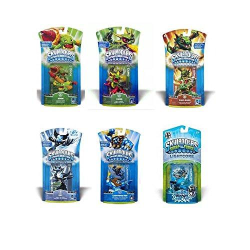 Skylanders Spyro's Adventure: Package Deal Bundle (6 Individual Characters)