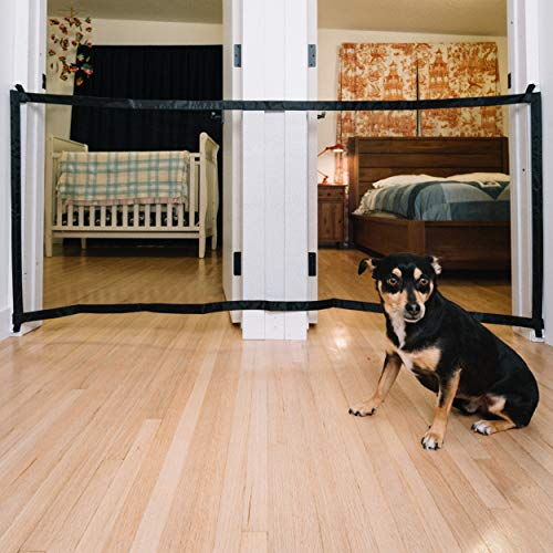 Baby and Pet Portable Mesh Gate: RDLC & Company 72 by 28.5 Inch Safety Gates