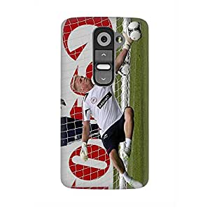 Leicester Football Club Peter Schmeichel 3D Funda Case for LG G2 Anti Dust Thin Hard Protective Funda Case Phone Accessories