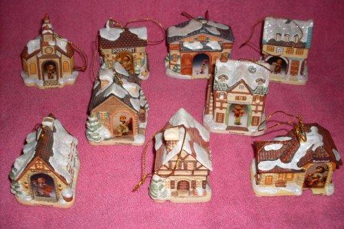 I.M. Hummel Bavarian Village Christmas Ornaments - Bradford Edition Ornaments