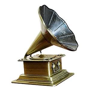 MagiDeal creativos Retro Gramófono Modelo Tocadiscos Fonógrafo ...