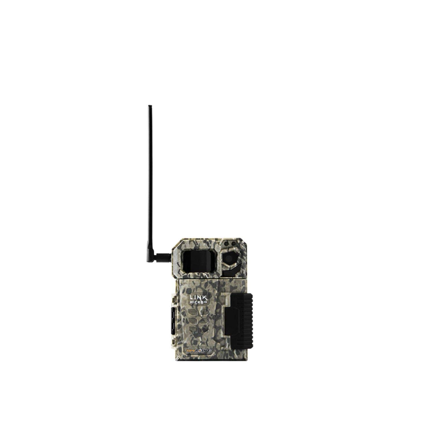 SPYPOINT Link Micro VZN Version (Smallest on The Market!) Wireless/Cellular Trail Camera, 4 Power LEDs, Fast 4G Photo Transmission w/Preactivated SIM, Fully Configurable via App by SPYPOINT