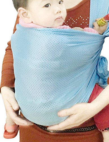 Baby Wrap Sling Carrier For Newborn Infant Toddler Kid Breathable Lightweight Stretch Mesh Water Sling Nice For Summer Beach Elegant And Sturdy Package Backpacks & Carriers Activity & Gear