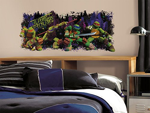 Teenage Mutant Ninja Turtle Trouble Graphix Peel & Stick Wall Decals 18 x 40in -