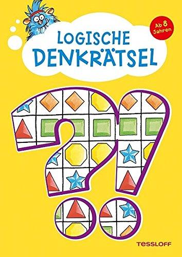 Logische Denkrätsel ab 8 Jahren: Kreuzworträtsel, Logicals, Buchstaben- und Zahlen-Rätsel