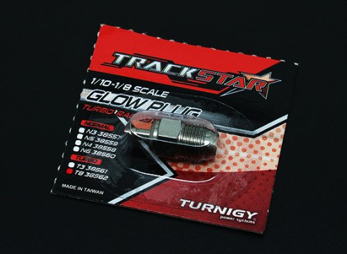 Turbo Glow Plug - TrackStar 1/10~1/8 Scale Turbo Glow Plug No.8 (MEDIUM)
