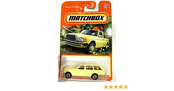 Matchbox Mercedes-Benz S123 Station Wagon #053 MBX '21 Series Light Yellow VHTF!