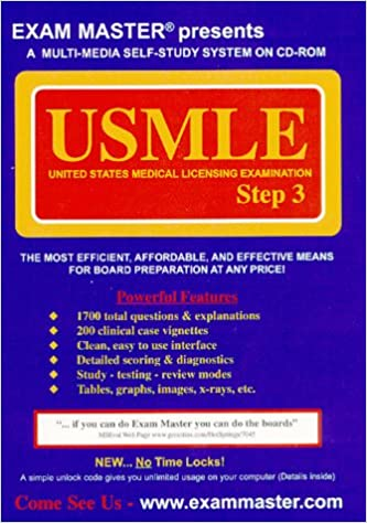 Amazon in: Buy Exam Master for the USMLE Step 3 Book Online at Low