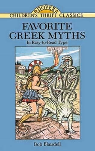 Favorite Greek Myths (Dover Children's Thrift Classics)
