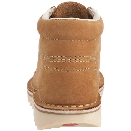 naturel Marron Bottines Bottes Kick Hi Femme Kickers beige Aq7v01xvw