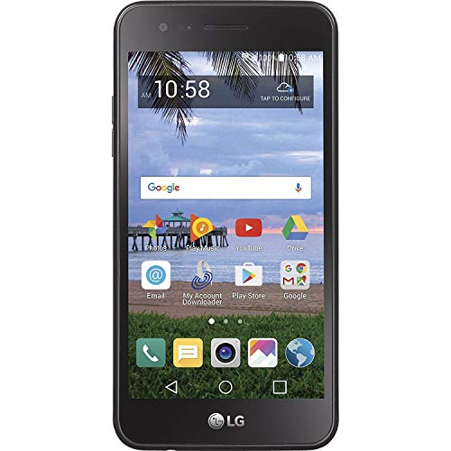 TracFone LG Rebel 2 4G LTE Prepaid Smartphone (Includes 1 Year of Service with 1200 MIN/1200 Text/1200MB upon new line activation)