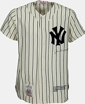 0f2f525e063 Joe DiMaggio Signed NY Yankees Pinstripe Jersey