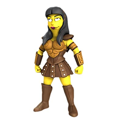 """NECA Simpsons 25th Anniversary - Lucy Lawless 5"""" Action Figure Series 2: Toys & Games"""