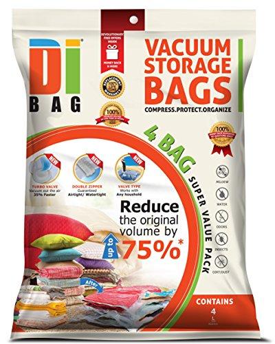 Dibag 174 4 Bags Pack 33 46 X21 25 85x54 Cm Vacuum